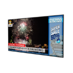 "Planar Systems QE8650 Digital signage flat panel 86"" LED 4K Ultra HD Black"