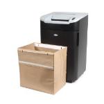 Rexel Recyclable Shredder Waste Sacks 115 Litre Capacity (50)