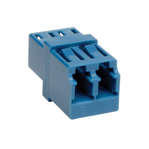 Tripp Lite Duplex / Simplex Singlemode Fiber Optic Coupler Adapter (Dual LC/LC)