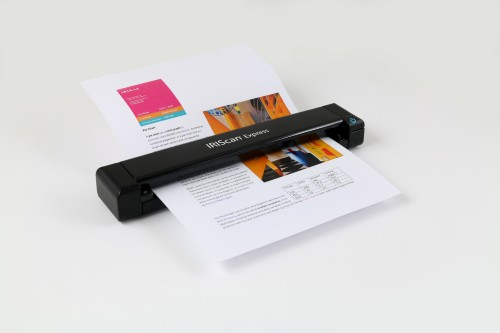 I.R.I.S. IRIScan Express 4 1200 x 1200 DPI Sheet-fed scanner Black A4