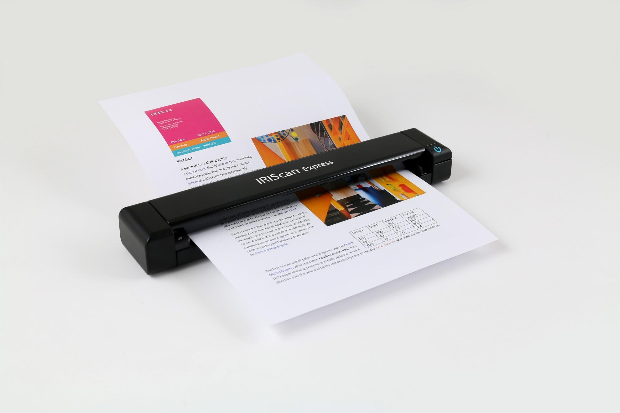 I.R.I.S. IRIScan Express 4 Sheet-fed scanner 1200 x 1200DPI A4 Black