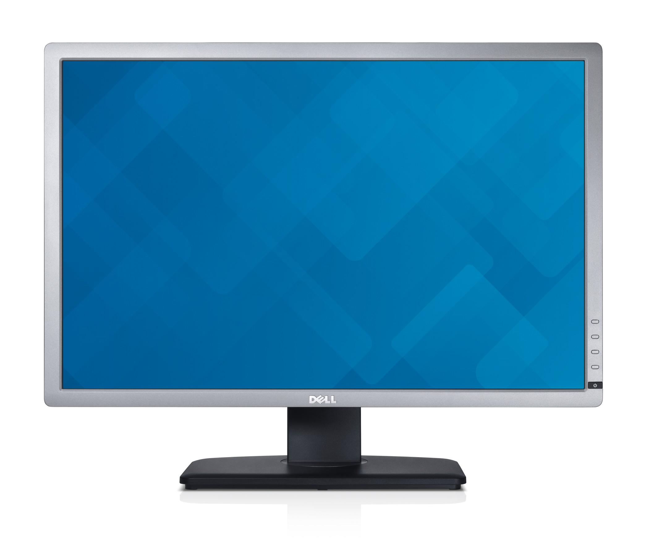 """DELL UltraSharp U2412M 24"""" Full HD IPS Matt Black,Silver"""