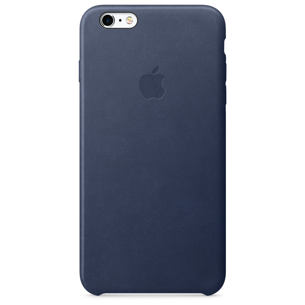 Apple iPhone 6s Plus Leather Case - Midnight Blue