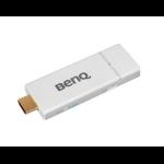 Benq 5J.JCK28.E01 AV extender AV receiver White