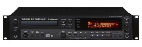 Tascam CD-RW901MKII Personal CD player Black CD player