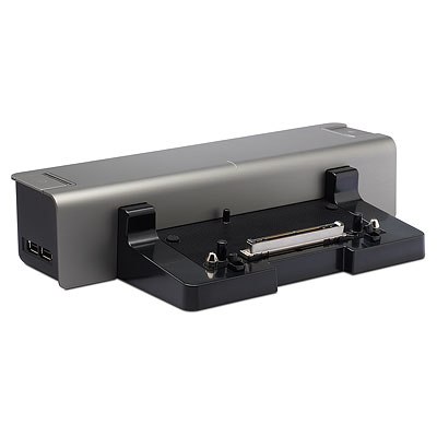 HP 483203-001 notebook dock/port replicator Docking Black