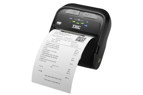 TSC TDM-30 Direct thermal Mobile printer Wired & Wireless