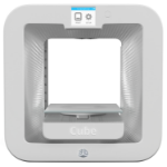 3D Systems Cube 3 Plastic Jet Printing (PJP) Wi-Fi White 3D printer