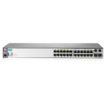Aruba, a Hewlett Packard Enterprise company ProCurve 2620-24-PPoE+ Managed L2 Fast Ethernet (10/100) Power over Ethernet (PoE) 1U Grey