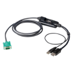 Aten CV190-AT KVM cable 1.8 m Black