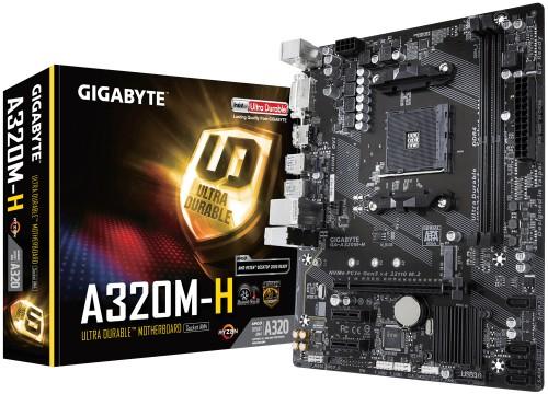 Gigabyte GA-A320M-H motherboard Socket AM4 micro ATX AMD A320
