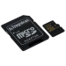 Kingston Technology Gold microSD UHS-I Speed Class 3 (U3) 16GB 16GB MicroSDHC UHS-I Class 3 memory card