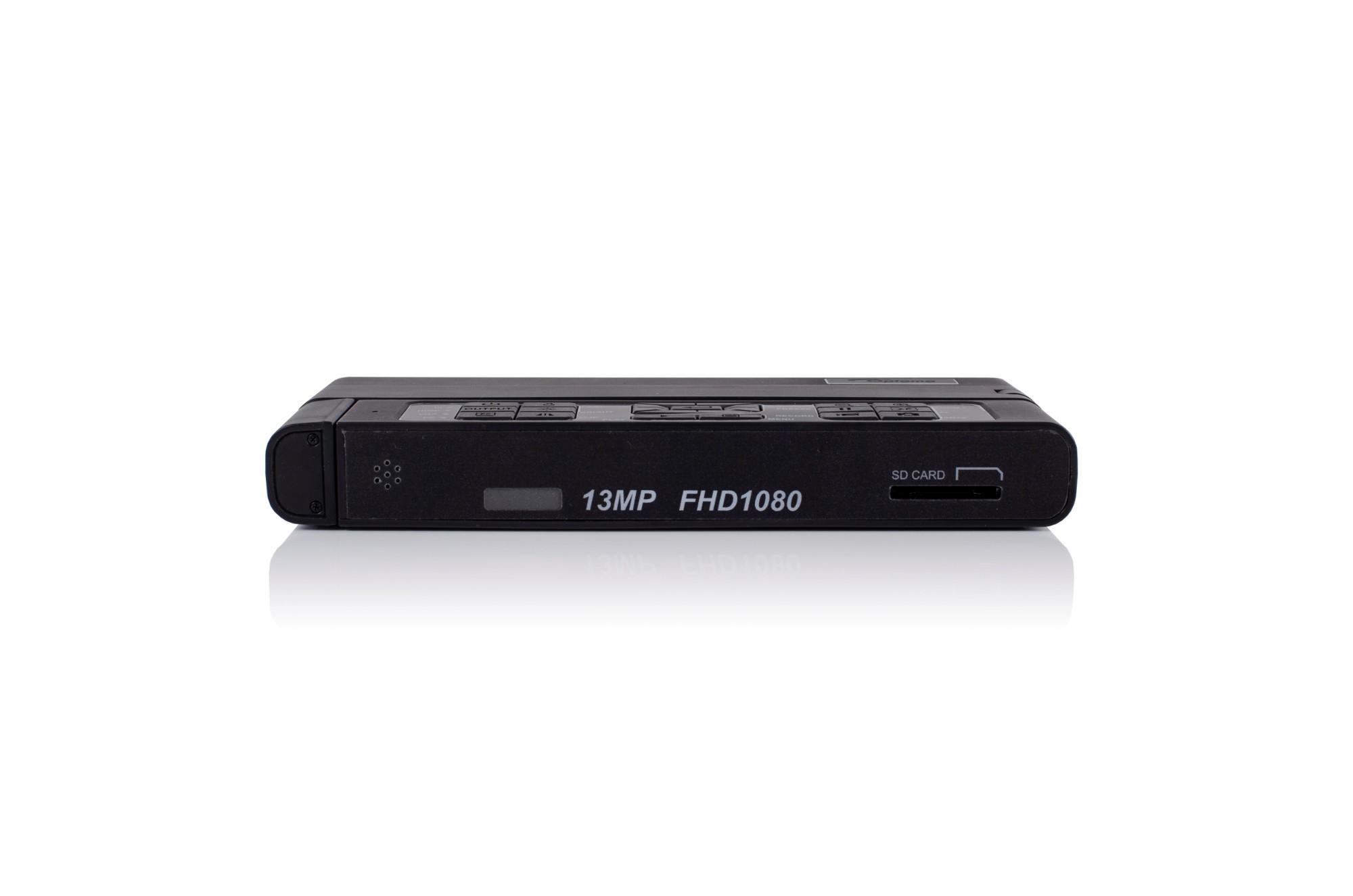 "Optoma DC455 document camera Black 25.4 / 3.06 mm (1 / 3.06"") CMOS USB 2.0"