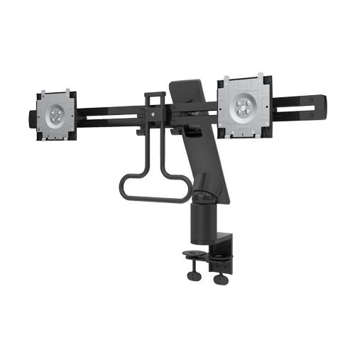 DELL MDA17 Clamp Black flat panel desk mount