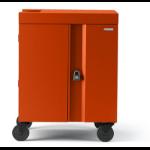 Bretford Cube Cart Portable device management cart Orange