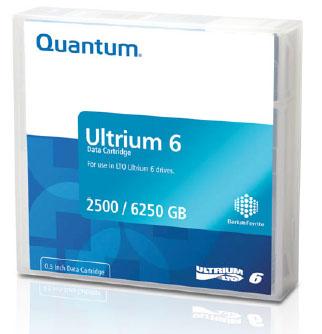Quantum Ultrium 6 LTO 2500 GB 1.27 cm
