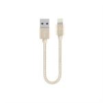 Belkin F8J144BT06INGLD lightning cable 0.15 m Gold