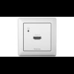 Extron DTP T EU 4K 331 socket-outlet HDMI White