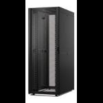 """APC NetShelter SX 42U 750mm(b) x 1200mm(d) 19"""" IT rack, netwerkbehuizing met zijpanelen, zwart"""