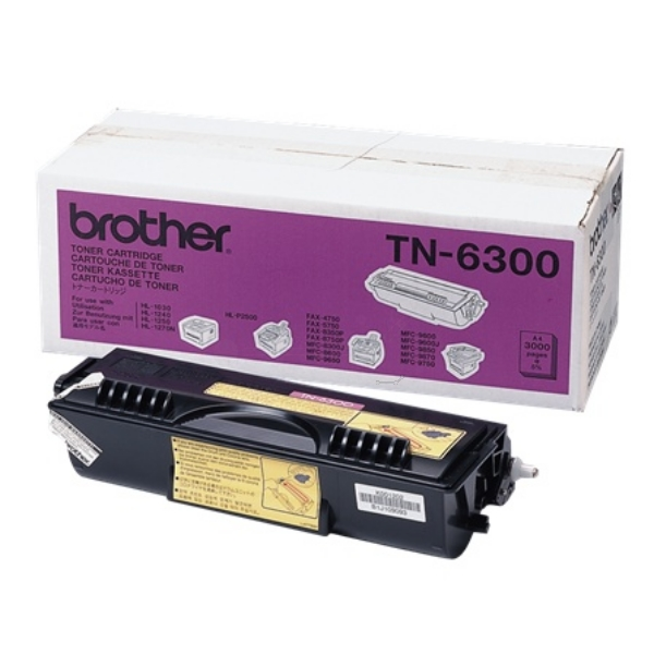 Toner Cartridge - Tn6300 - 3000 Pages - Black
