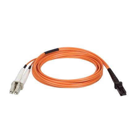 Tripp Lite Duplex Multimode 62.5/125 Fiber Patch Cable (MTRJ/LC), 2M