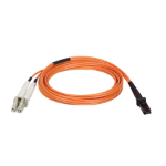Tripp Lite Duplex Multimode 62.5/125 Fiber Patch Cable (MTRJ/LC), 2M