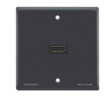 Kramer Electronics Passive Wall Plate - HDMI outlet box Black
