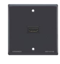 Kramer Electronics Passive Wall Plate - HDMI outlet box Black