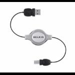 Belkin F3U133CP1MRTC 1m USB A USB B Male Male USB cable