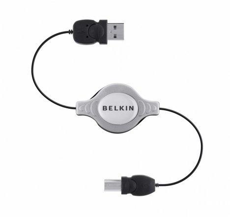 Belkin F3U133CP1MRTC USB cable 1 m 2.0 USB A USB B