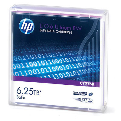 Hewlett Packard Enterprise LTO-6 Ultrium RW LTO