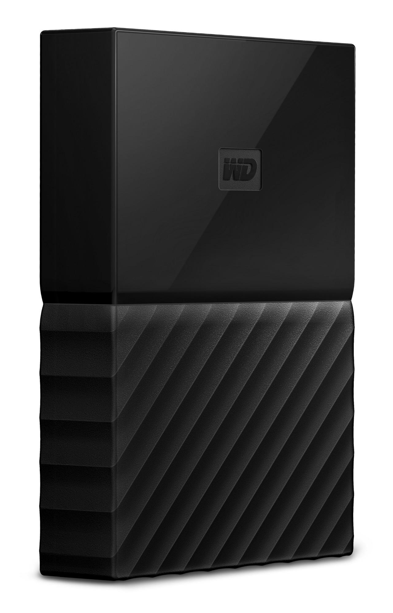 Western Digital My Passport 4000GB Black external hard drive