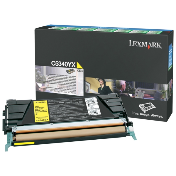 Lexmark C5340YX Toner yellow, 7K pages @ 5% coverage