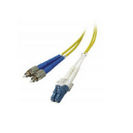 Microconnect 3m FC/UPC-LC/UPC fiber optic cable OS2 FC/UPC LC/UPC Yellow