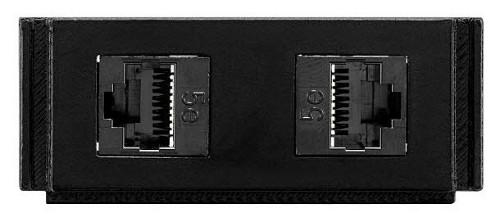 AMX HPX-N102-RJ45 Black outlet box
