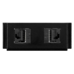AMX HPX-N102-RJ45 outlet box Black