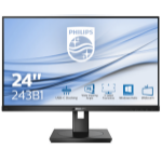 Philips B Line 243B1/00 LED display 60,5 cm (23.8 Zoll) 1920 x 1080 Pixel Full HD Schwarz