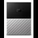 Western Digital My Passport Ultra disco duro externo 2000 GB Negro, Gris
