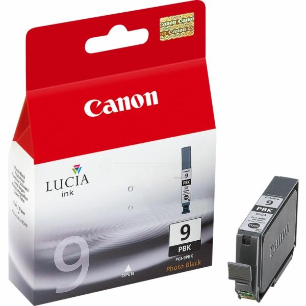 Canon 1034B001 (PGI-9 PBK) Ink cartridge bright black, 530 pages @ 5% coverage, 14ml