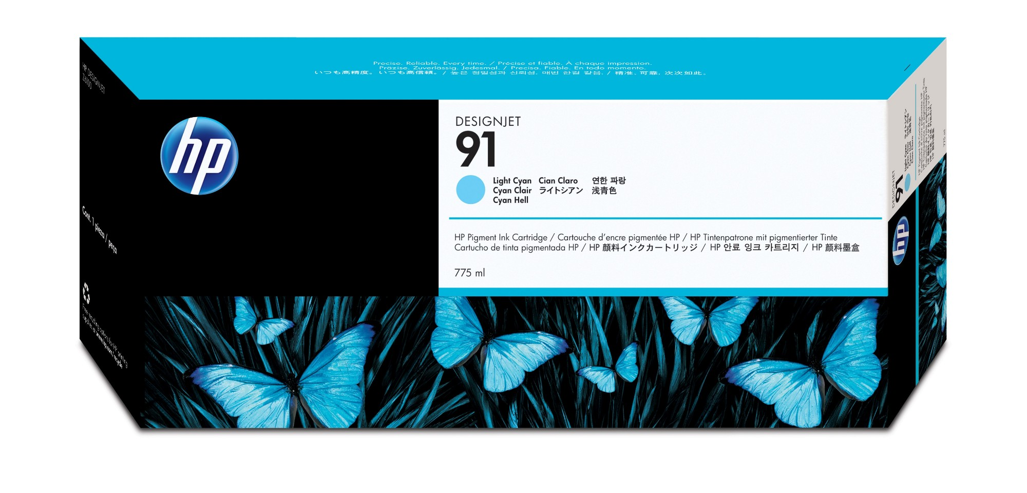HP 91 Original Cian claro 1 pieza(s)