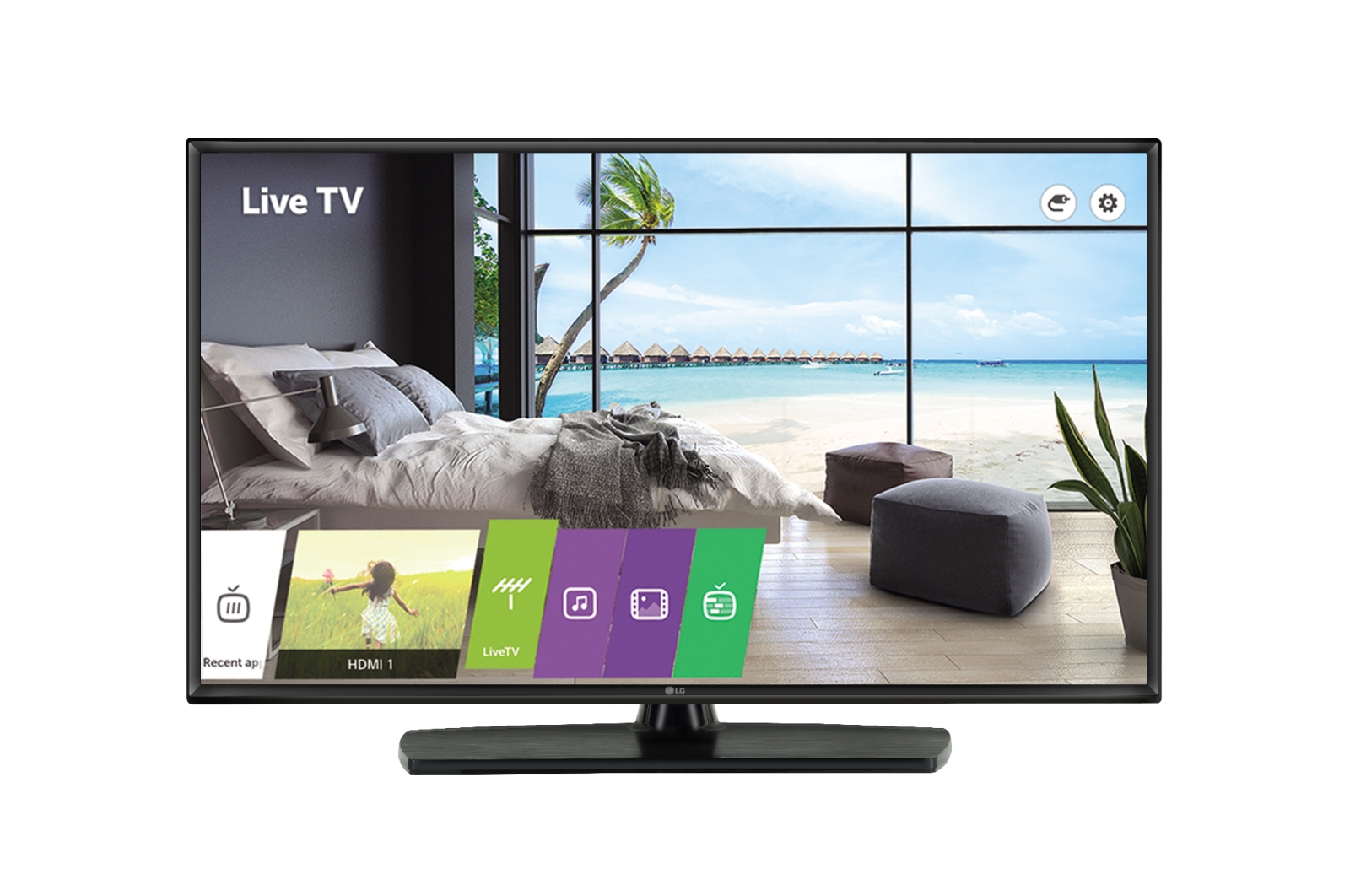 "LG 43LT341H signage display 109.2 cm (43"") LED Full HD Digital signage flat panel Black"