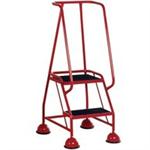 VFM 385131 2 Tread Step Red
