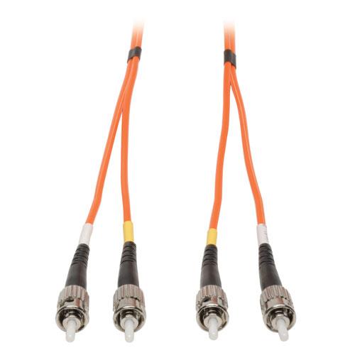 Tripp Lite Duplex Multimode 62.5/125 Fiber Patch Cable (ST/ST), 1M (3-ft.)