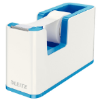 Leitz 53641036 Polystyrene Blue, Metallic tape dispenser