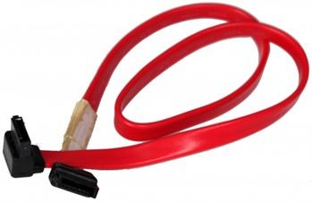 Supermicro Flat SATA SATA cable 0.4 m Black, Red