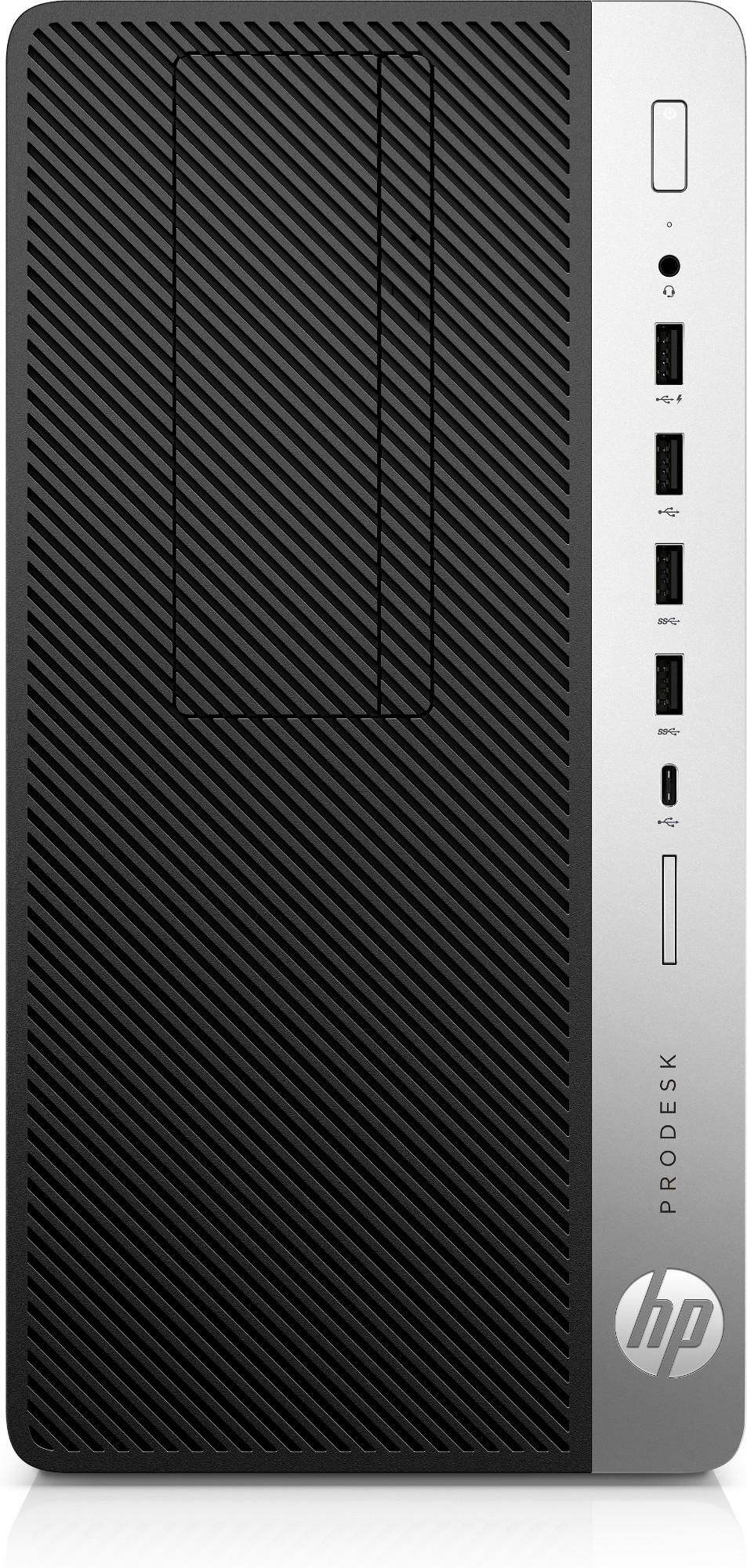 HP ProDesk 600 G5 9na generación de procesadores Intel® Core™ i5 9500 8 GB DDR4-SDRAM 256 GB SSD Micro Tower Negro PC Windows 10 Pro