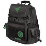 "Mobile Edge RAZERBP15 15.6"" Backpack Black,Green notebook case"