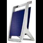 Leitz Pen Holder Silver Titan Blue