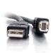 C2G 1m USB 2.0 A/B Cable - Black
