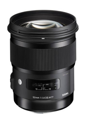 Sigma Art, 50mm F1.4 DG HSM SLR Black